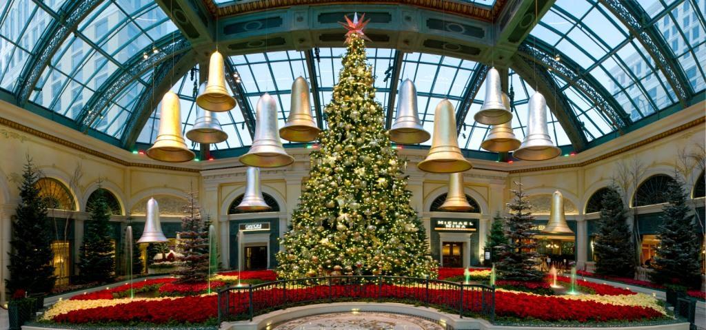 Christmas Tree Made Of Lights