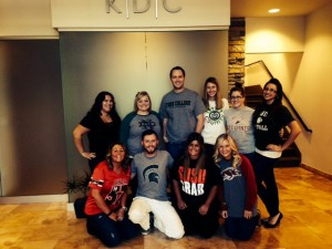 KDC College Colors Day