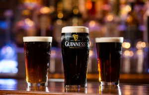 There's nothing like a perfectly-poured pint of Guinness.