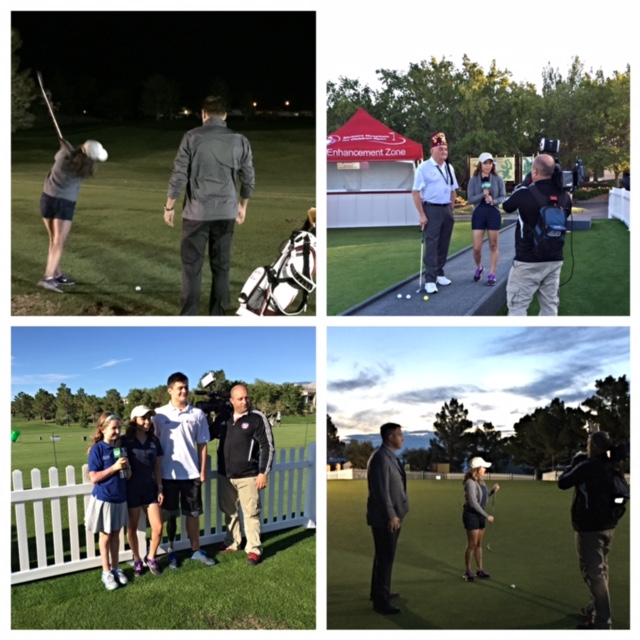 Interviews during Shriners Hospitals for Children Open