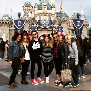 The KDC crew takes Disneyland in California!