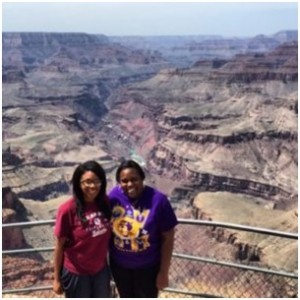(Our Grand Canyon stop right before we made it to LV – a 24 hour drive)